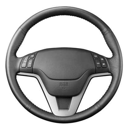O volante é um dos itens no carro para checar