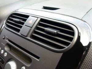 ventilação interna de ar condicionado