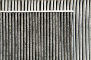 Filtro de ar condicionado sujos