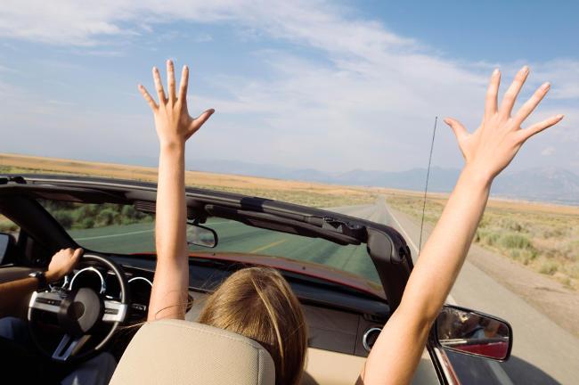 Carro pronto para as férias