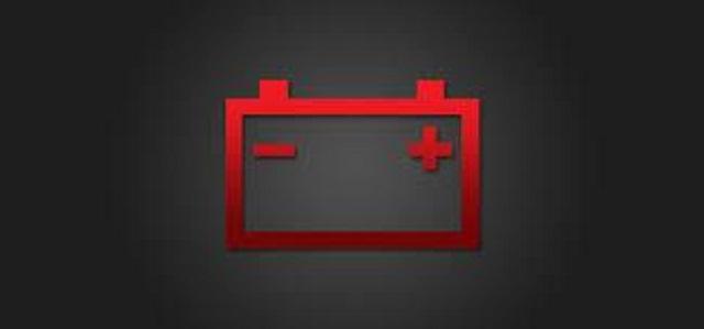 Luz da bateria no painel do carro TG Centro Automotivo