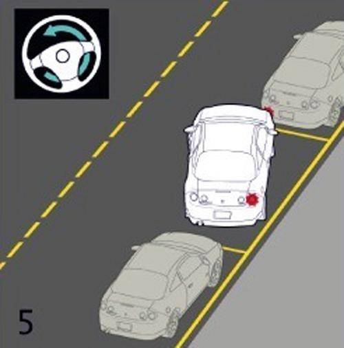 Estacionando na baliza