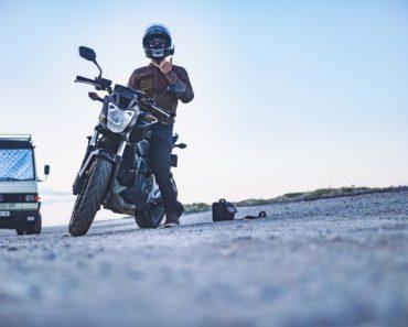 limpar o motor da moto